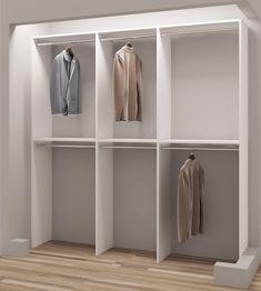 """Demure Design 75""""W Closet System"""