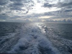 Not far off shore from Key West, Sunrise