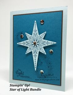 Stampin' Up! Star of Light Bundle with the How To Video!, Kay Kalthoff, 2016 Holiday Catalog, #stampingtoshare