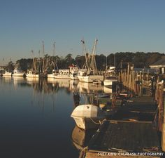 Seafood Capital of the World, Calabash, NC my grandpa was born here.his family is one of the oldest families still here