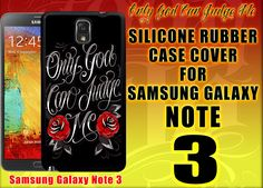 for samsung galaxy note 3 protective black silicone rubber case glossy image  #Samsung