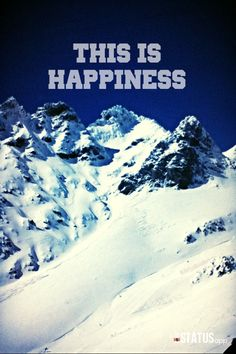This is happiness. #thisismymountain
