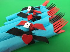 Mad Hatter Tea Party Cutlery