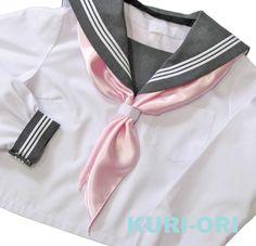 【KURI-ORI】クリオリセーラースカーフツヤタイプ新色!!エンジェルピンク【楽天市場】