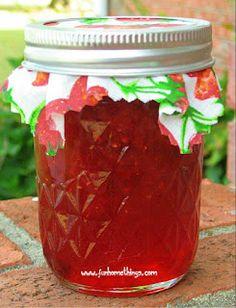 Fun Home Things--Strawberry Jam recipe