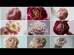앙금플라워 작약 꽃짜기 모음peony flower piping techniques tutorial - YouTube Piping Tutorial, Cake Tutorial, Flower Tutorial, Royal Icing Flowers, Sugar Flowers, Cake Decorating Techniques, Cake Decorating Tips, Buttercream Flowers Tutorial, Buttercream Cake Decorating