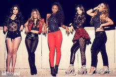 Fifth Harmony photoshoot for Billboard