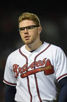oakley baseball prescription sunglasses  freddie freeman is back in the braves starting lineup, wearing sports glasses he hopes will