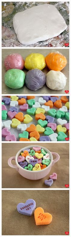Conversation Hearts.... the next best thing AFTER; Candy Canes, Candy Corn and Black Jelly Beans ;)