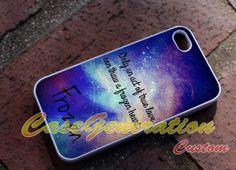Custom Case Frozen Disney Quote iPhone 4/4s/5 by GenerationOfCase, $8.85