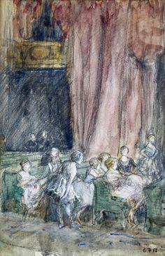 Theatre Audience | Eleanor Fortescue-Brickdale
