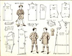 1930s boyswear