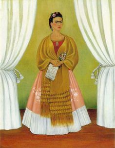 Frida Kahlo Self Portrait dedicated to Leon Trotsky