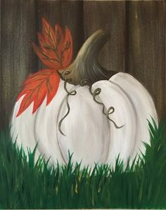 Join us at Pinot's Palette - Dubuque Studio on Sat Oct 07, 2017 3:00-5:00PM for Ghost Pumpkin. Seats are limited, reserve yours today!