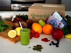 GreenBlender Box On Counter
