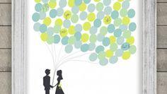 Hochzeitsgästebuch als Erinnerung an die Feier