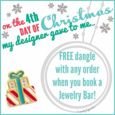 .On the 4th Day of Christmas...... What Charms Tell Your Story? Contact me now! www.GlamorousByVictoria.OrigamiOwl.com ~ Designer #49681 Like our www.facebook.com/GlamorousByVictoria