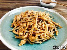 鶏肉ともやしのピリ辛ごまみそ炒めのレシピ キユーピー3分クッキング
