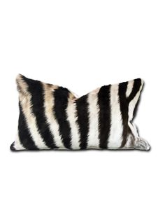 Zebra Hide pillows from ForsythArt