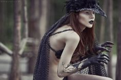 Nothing gives an Unseelie Fae away more than their blackened hands. The further up the darkness travels, the more likely they've dabbled in the black arts. Mother Of The Bride Looks, Schreck, Necromancer, Weird Art, Second Skin, Faeries, Mists, Mythology, Fairy Tales