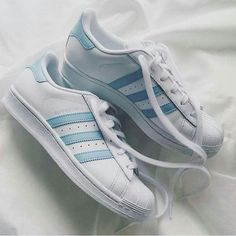 Tendance Chausseurs Femme 2017 Shoes: adidas adidas adidas superstars adidas originals causal gold standard blue white white Tendance Chausseurs Femme 2017 Description Wheretoget - White Adidas Superstar sneakers with baby blue stripes Adidas Shoes Women, Nike Women, Adidas Sneakers, Blue Adidas Shoes, Sneakers Women, Blue Sneakers, Pink Adidas, Black Adidas, Adidas Originals