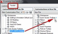 Transferring Your Quick Access Toolbar to AutoCAD/LT 2016