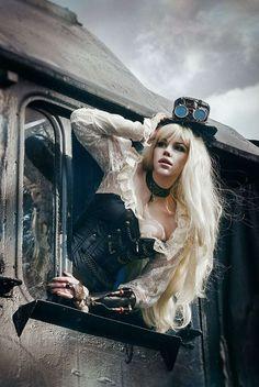 #SteamPUNK ☮k☮ #train
