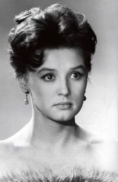 Vera Alentova (born February 21, 1942, Kotlas, Arkhangelsk region.) - Soviet and Russian film and stage actress, Honored Artist of the RSFSR, People's Artist of Russia.