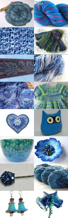 A Blue Spring by Bebby on Etsy--Pinned with TreasuryPin.com