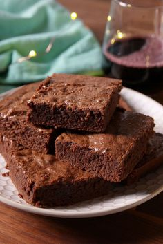 Best Red Wine Brownies Recipe-How To Make