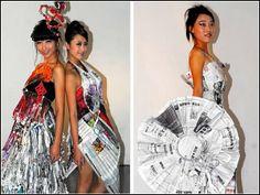 Все могут модельеры. ТОП-10 необычных платьев | Fashion | Одежда