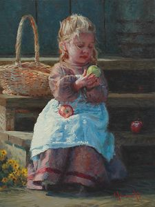 Choices by Jim Clements Oil ~ 12 x 9