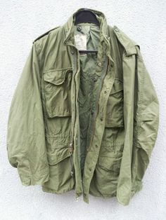 d96d60d769ee Authentic vintage U.S. army issue M-65 jacket. One of my favorite all-