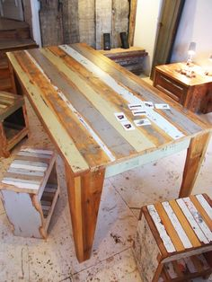 plank series table