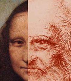 Mona Lisa and of Leonardo Da Vinci's