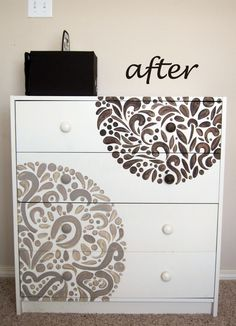 The changing table is finished and I'm very pleased with how it turned out!  The best part? It cost us nothing! :-) The changing table is...