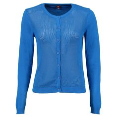 Mooie kwaliteit vestje 'Park' van Who's That Girl in blauw ✓ Voor 21.00 uur besteld, morgen in huis