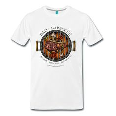 Dads Barbecue Legend - Grill T-Shirt T-Shirt | Carnivore Connaisseur Grill & Barbecue Shirts