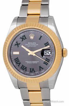 Rolex - Datejust II : 116333 slate dial