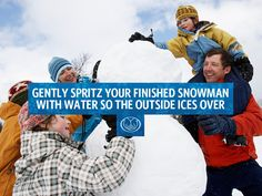Want to make the ideal snowman? Some #tips.