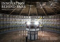 The panopticon prison house. Stateville Correctional Center is a maximum-security state prison for men in Greater Chicago. American Manufacturing, Behind Bars, Made In America, Guardians Of The Galaxy, Prison, Innovation, It Works, Building, How To Make