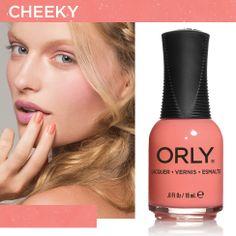 Cheeky - Spring 2014 #orlynails #blush