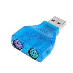 Slim USB 2.0 to PS/2 Adapter Dongle### #:)For Wholesale price, pls contact Alex,  Whatsapp 0086-159-9443-4871 http://www.linkedin.com/pub/alex-lee/55/483/22b