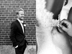 Wedding photographer Sanna Dolck. Malmö, Sweden. Wedding portraits. Bröllop. Wedding. Swedish wedding. Groom. Getting ready. Wedding dress. Agneshill.