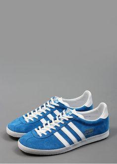 Adidas Gazelle. Didn't last long but look cool n old school.