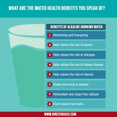 What are the Water Health Benefits You Speak Of? http://www.ionizeroasis.com/blog/what-are-the-water-health-benefits-you-speak-of/