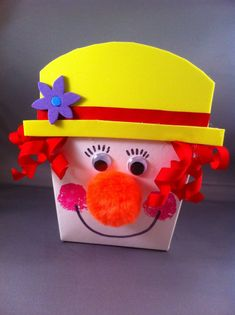 box clown craft | Crafts and Worksheets for Preschool,Toddler and Kindergarten
