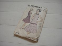 "Maudella Cocktail Dress 5484, Size 18, Bust 38"" Circa 1960 by lovevintagecrafts…"