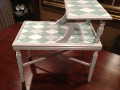 Vintage  painted end table by brendasperfectfinish on Etsy, $60.00