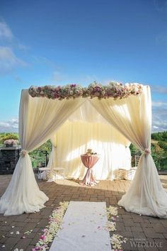 White Wedding pavilion Curtain & pipe with valance tent stand wedding Canopy drapes with stand Metal Wedding Arch, Wedding Arch Rustic, Wedding Canopy, Decor Wedding, Backdrop Wedding, Metal Arch, Wedding Arches, Budget Wedding, Garden Wedding